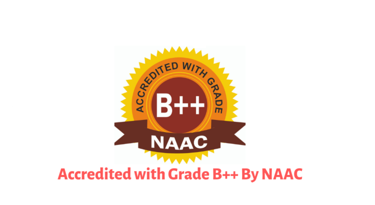 Accredited 'B++' Grade by NAAC